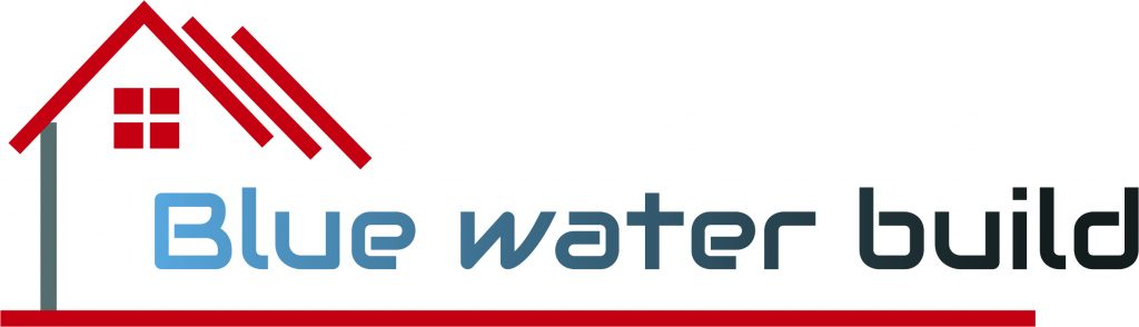 BLUE WATER BUILD logo